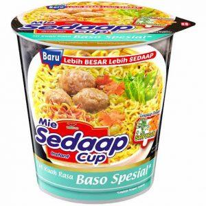 Mie Sedap Cup Bakso Flavor