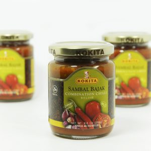 Kokita Sambal Bajak ( combination chilli relish)