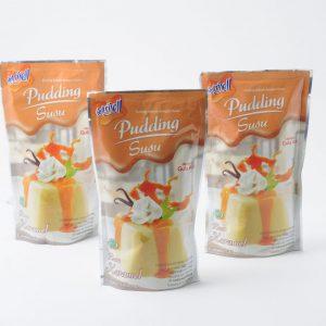 Nutrijell pudding susu rasa karamel
