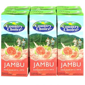 Jus Jambu merah country choice