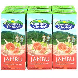Jus Jambu merah country choice