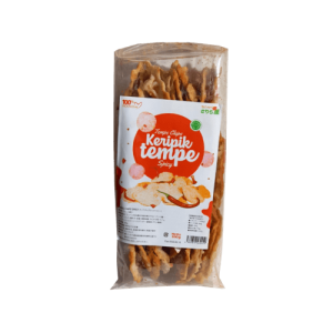 Kripik Tempe Pedas (Spicy Tempe Chips)