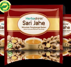 Herbadrink – Sari Jahe 22gr