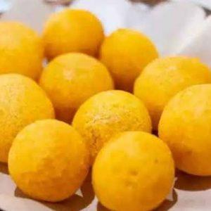 Bola Ubi (Isi Gula Merah) – Sweet Potatoes Ball (with brown sugar fillings) – 400gr